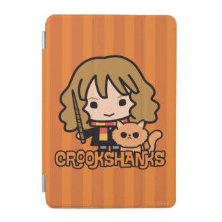 Tecknad Hermione och Crookshanks iPad Mini Skydd