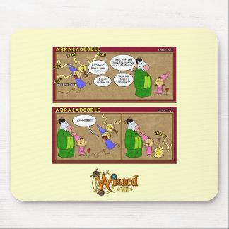 Tecknad Mousepad för Wizard101 Abracadoodle Mus Matta