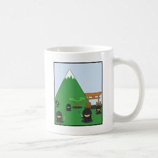 Tecknad Ninjas (i bygden) Kaffemugg