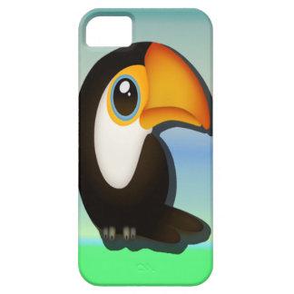 Tecknad Toucan iPhone 5 Case-Mate Skal