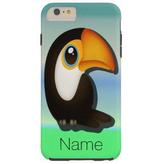 Tecknad Toucan Tough iPhone 6 Plus Skal