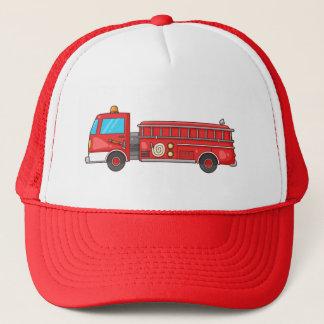 Tecknaden avfyrar lastbilen/motorn keps