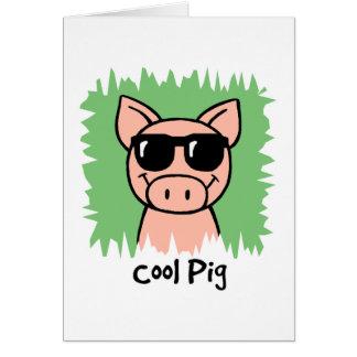 Tecknaden fäster ihop den kalla grisen för konst OBS kort