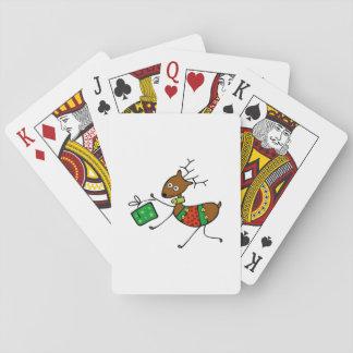 Tecknadjulhjort Casinokort