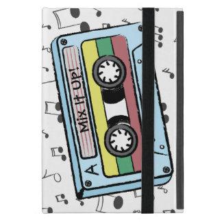Tecknadkassetten tejpar & musik noter - blandning iPad mini skal
