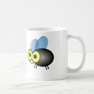 Tecknadmygga - vitkaffemugg kaffemugg