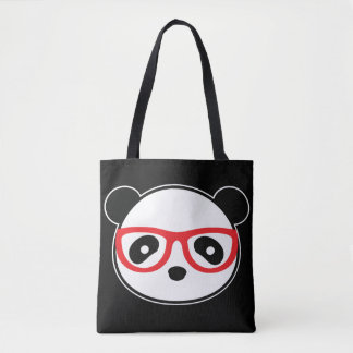 TecknadPandahandväska - Leon som Pandabjörnen Tygkasse