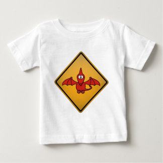 TecknadPterodactylvarning undertecknar T Shirt