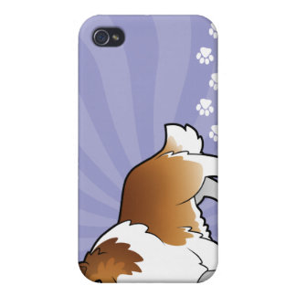 TecknadShetland Sheepdog/Collie iPhone 4 Hud
