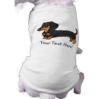 Tecknadtax (släta laget), hund t-shirts