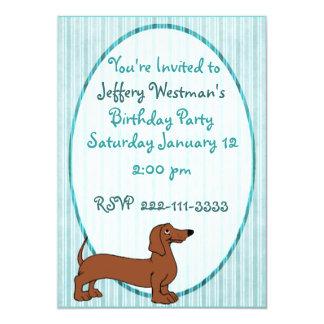 Tecknadtaxbarns inbjudan för födelsedag