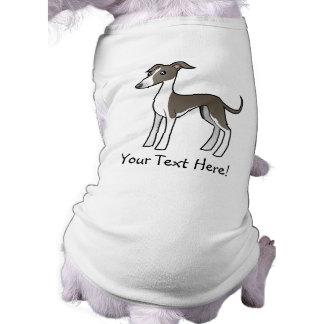 Tecknadvinthund/Whippet/italiensk vinthund Husdjurströja