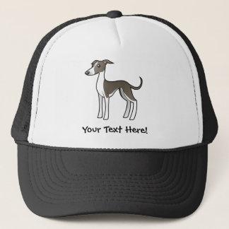 Tecknadvinthund/Whippet/italiensk vinthund Truckerkeps
