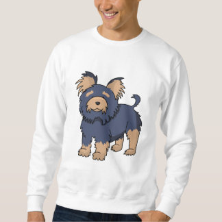 TecknadYorkshire Terrier Sweatshirt