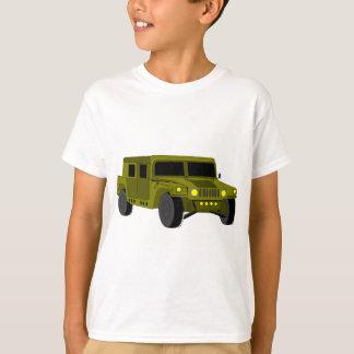 Teckning för armélastbiltecknad t shirts