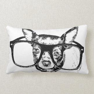 Teckning för Chihuahuahundillustration Lumbarkudde