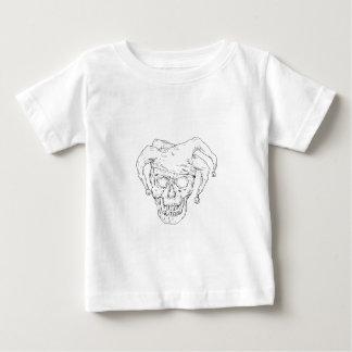 Teckning för domstolgyckelmakareskalle tröjor