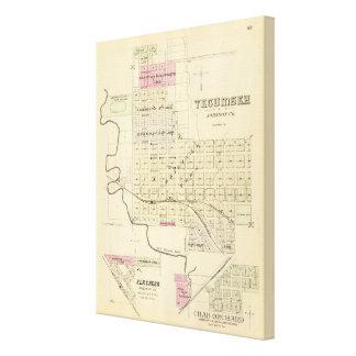 Tecumseh Nebraska Canvastryck