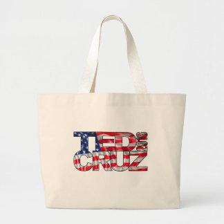 Ted Cruz 2016 (flagga) Jumbo Tygkasse