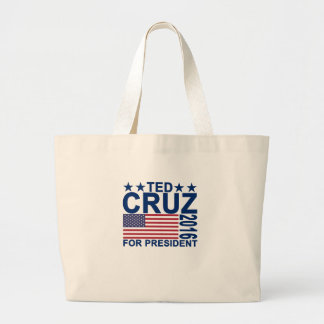 TED CRUZ 2016 Tshirts.png Jumbo Tygkasse