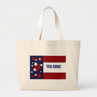 Ted Cruz för politisk flaggakonst för president Jumbo Tygkasse