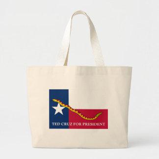 Ted Cruz för presidentmarinjack Jumbo Tygkasse