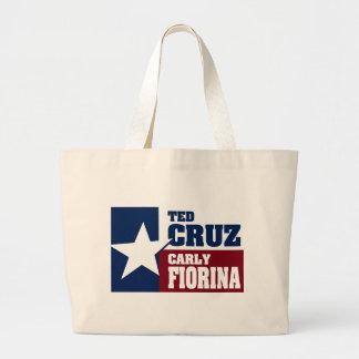 Ted Cruz och Carly Fiorina 2016 Jumbo Tygkasse