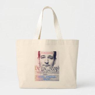 Ted Cruz - oss folket Jumbo Tygkasse