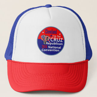 Ted CRUZ-truckerkeps 2016 Truckerkeps