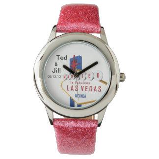 Ted & Jill som ATT GIFTA SIG i den sagolika Las Armbandsur