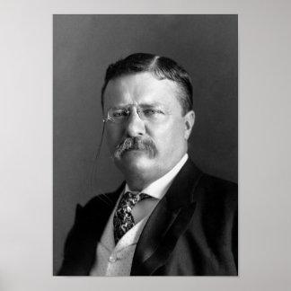 Teddy Roosevelt porträtt - 1904 Poster