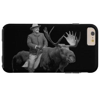 Teddy Roosevelt som rider ett tjurälgfodral Tough iPhone 6 Plus Skal