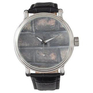 Tegelstenväggklocka Armbandsur