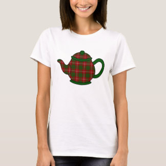 Tekanna för Crawford Tartanpläd Tee Shirt