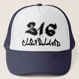 Tekniker Cleveland (216) Truckerkeps