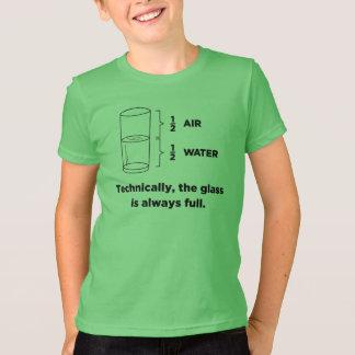Tekniskt är exponeringsglaset alltid fulla T-tröja T Shirt