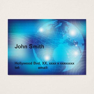 Teknologi - bakgrund visitkort