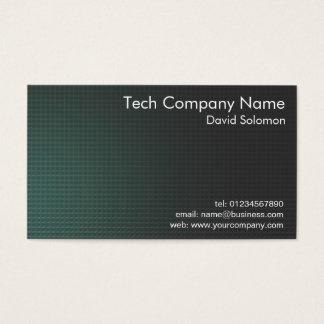 Teknologi Företag affär Visitkort