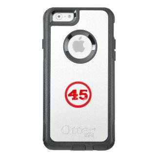 Telefonfodral för cellen #45, trumf är presidenten OtterBox iPhone 6/6s skal
