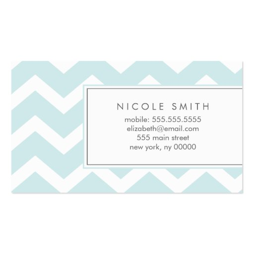 Telefonkort för mönster för Aquasicksacksparre Visitkort