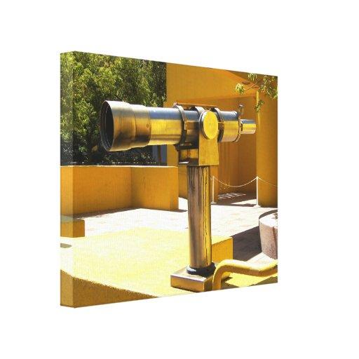 Teleskop Kanvastryck