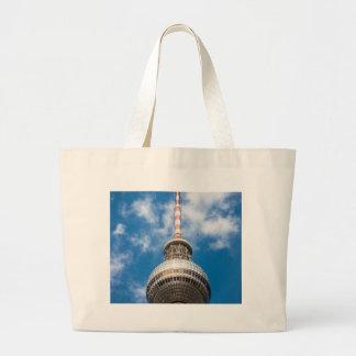 Televisiontorn i Berlin (Tysklandet) Tote Bags
