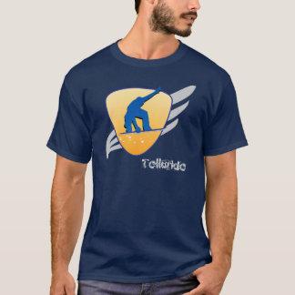 Telluridesnö stiger ombord skyddar t shirts