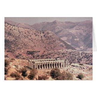 Tempel av Apollo Epikourios, c.450-20 BC Hälsningskort