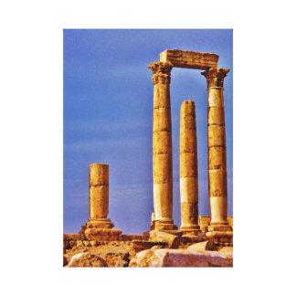 Tempel av Hercules Canvastryck