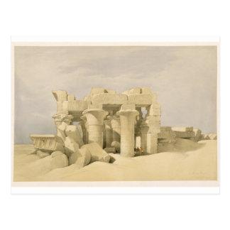 Tempel av Sobek och Haroeris på Kom Ombo, från Vykort