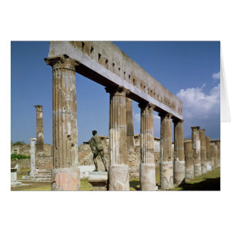 Tempelet av Apollo Hälsningskort