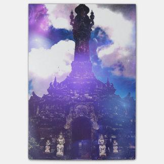 Tempelet Time glömde Post-it Lappar