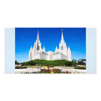 Tempelvågrät för LDS San Diego Fotokort