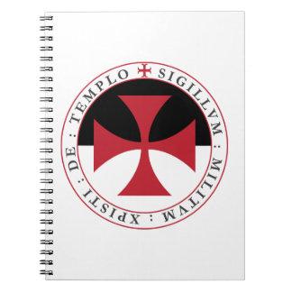 Templar arg anteckningsbok